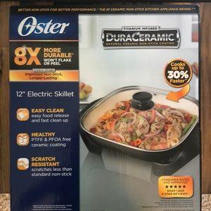 "Oster 12"" Electric Skillet"